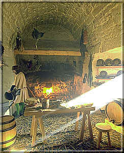 The Castle kitchen - photo: Manx National Heritage