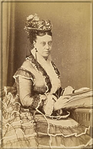 Miss Lydia Becker, a leading campaigner for votes for women. Photo courtesy of Oldham Studies and Archives