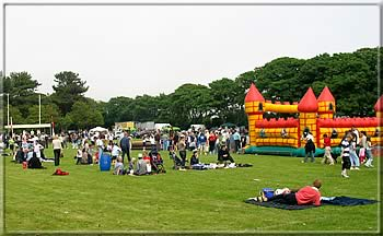 Crownds in the Park