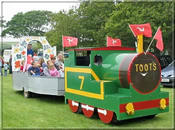 Toots the train