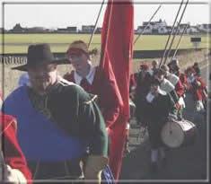 Col. Duckenfield march es his men from Derbyhaven to Castletown