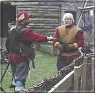 The Royalist Commander is captured