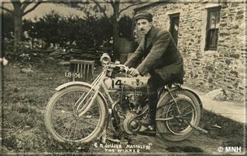 TT racer from 1910