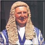 Sir Charles Kerruish - Speaker from 1962-1990. Photo: copyright Manx National Heritage