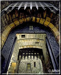 Portcullis - With grateful thanks to Manx National Heritage for their assistance with copyright text and images